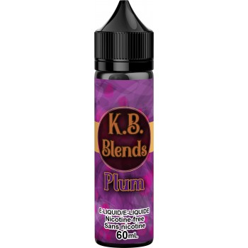 K.B. Blends Plum 60ml